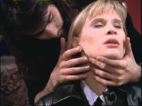Vampire Vachon Ben Bass resists attacking officer Tracy Vetter 1995