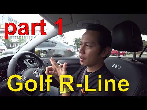Bawa bini test drive Volkswagen Golf R-LINE Part 1 | CARDOCK EvoMalaysia.com