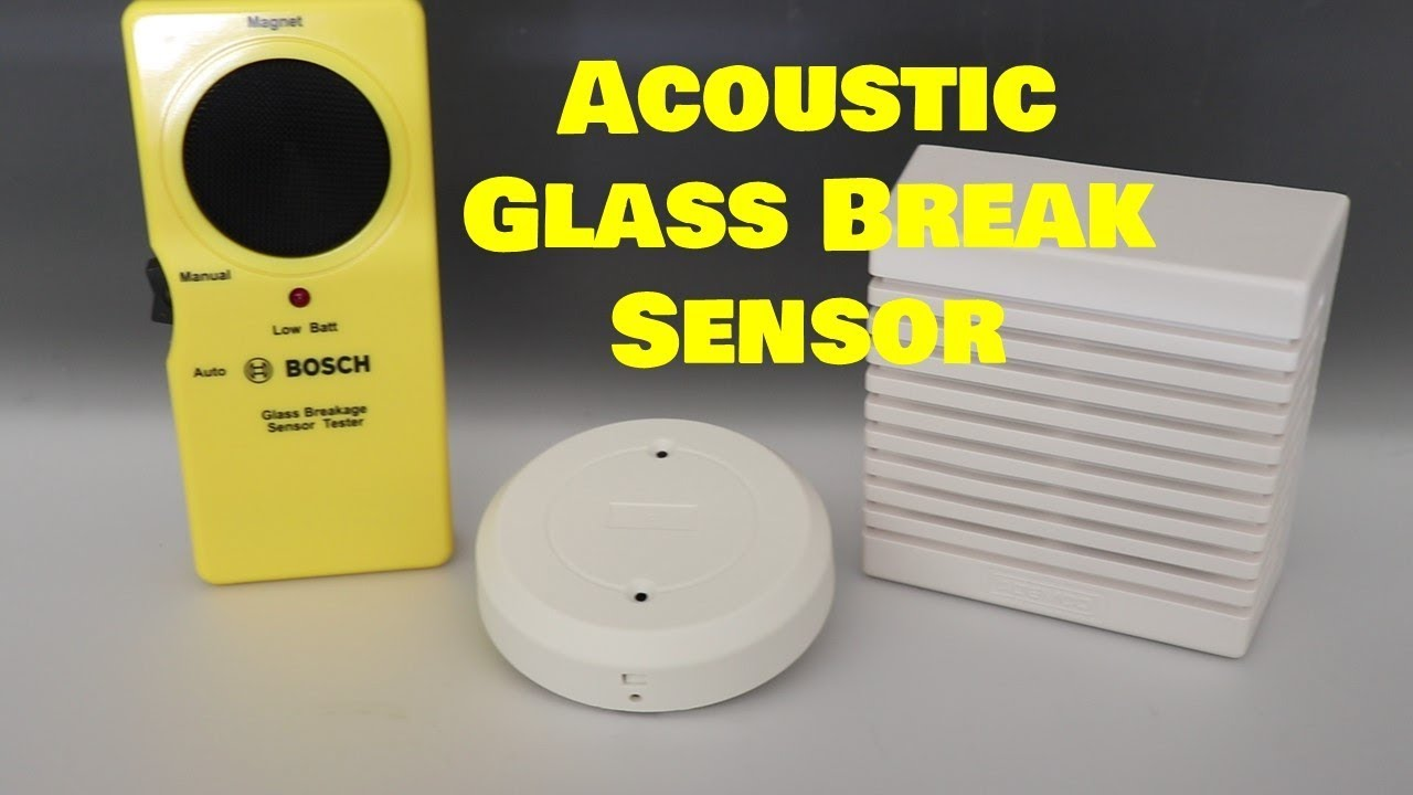 Acoustic Glass Break Detectors