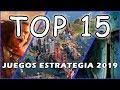 TOP 15 MEJORES juegos de estrategia para PC 2019