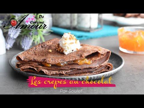 les-crêpes-au-chocolat-pour-la-chandeleur,-pâte-à-crêpes-facile