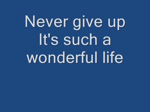 Hurts - Wonderful Life Lyrics