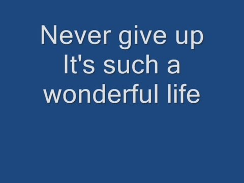 Hurts - Wonderful Life Lyrics
