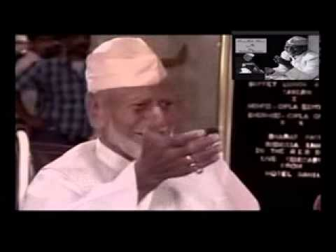 The late maestro Ustad Bismillah Khan's Last Interview (A Life Time Experience)