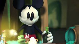 Disney Epic Mickey -- game intro part 1