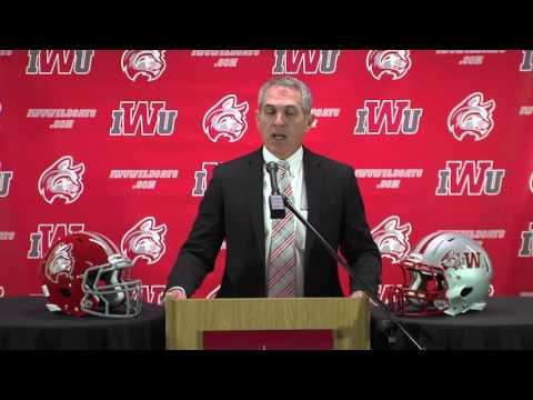 Indiana Wesleyan Football Press Conference