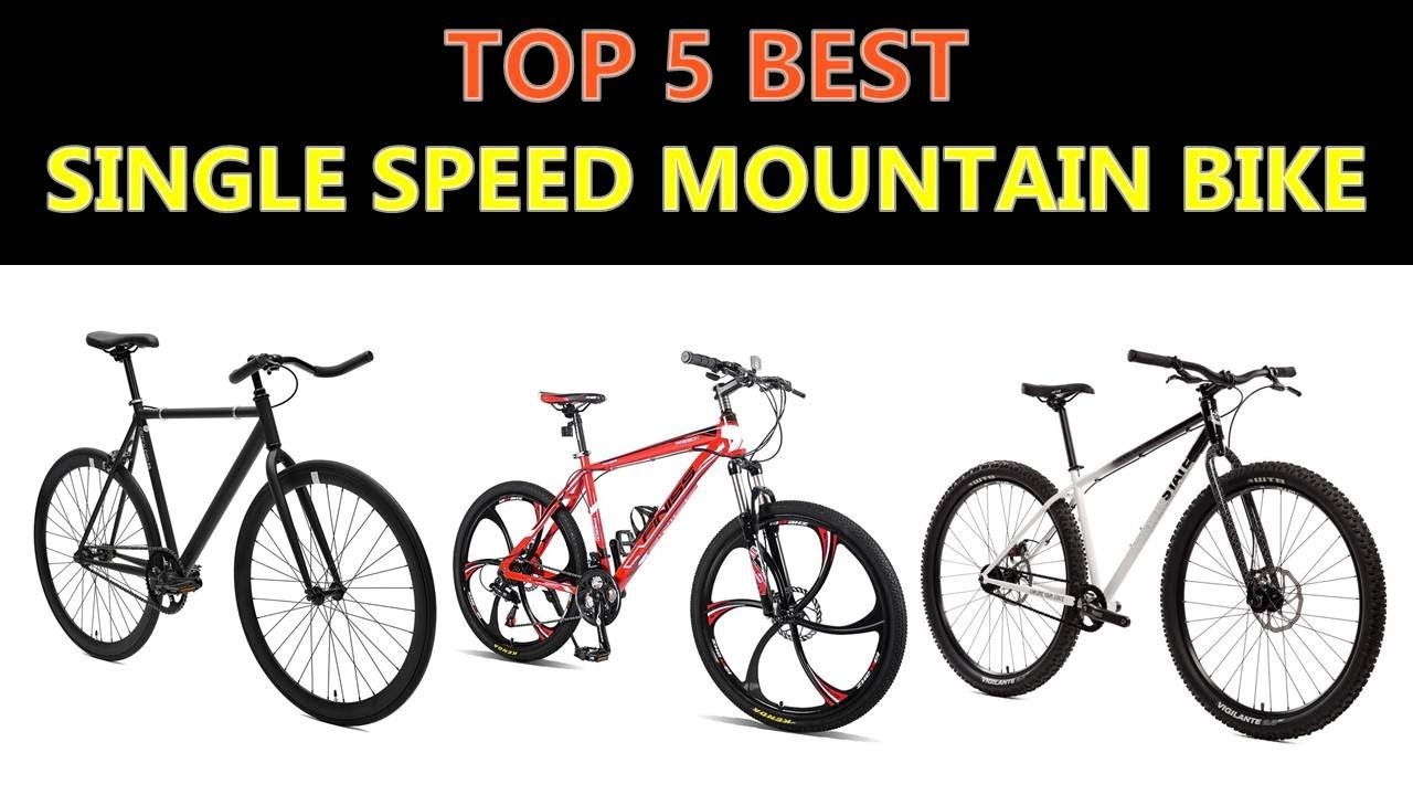 11ed6a4344f Best Single Speed Mountain Bike 2019 - YouTube