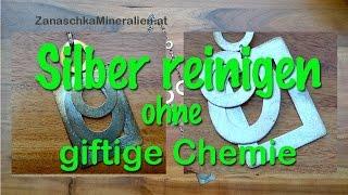 Silber reinigen ohne giftige Chemie leicht gemacht
