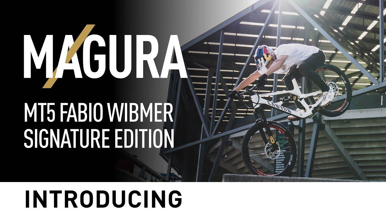 Um sonho em preto e dourado. Novo Magura MT5 Fabio Wibmer Signature Edition