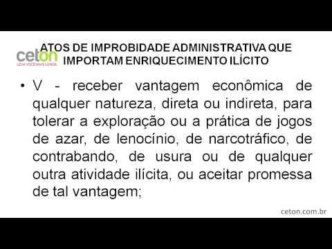 Agente Penitenciário do Estado da Bahia, Professor HENRIQUE MELO, Improbidade Administrativa.