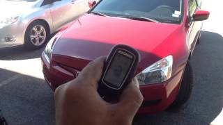 2003 Honda Accord. Autopage remote start alarm.