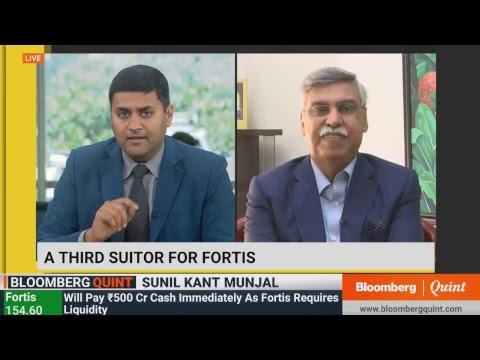 Sunil Kant Munjal On Joining The Burman Family For Acquiring Fortis Healthcare