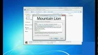 02 - [WINDOWS 7] - Transformar windows 7 a Mac Os X Mountain Lion | TutoKevMac