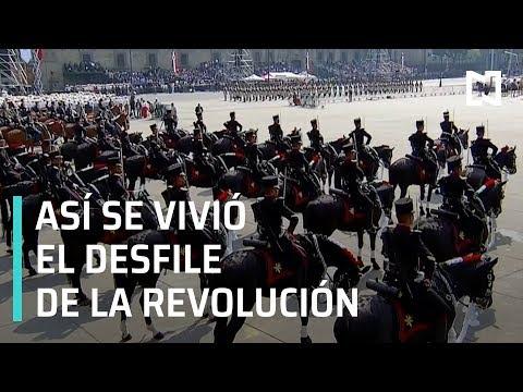 Así se vivió el desfile del 109 aniversario de la Revolución Mexicana - En Punto