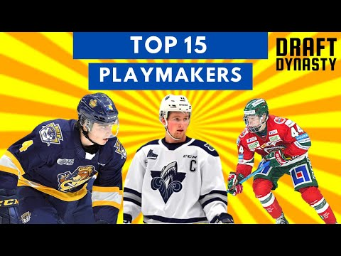Top 15   Best Playmakers from NHL Draft 2020