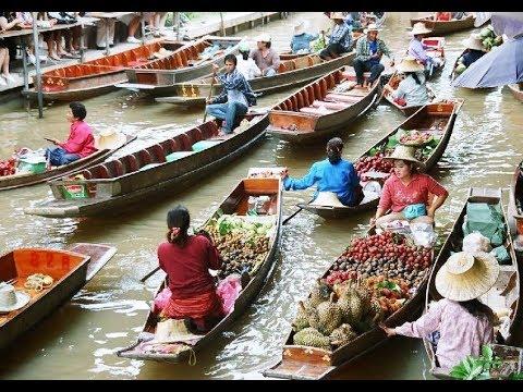 Chao Phraya River in Bangkok - Bangkok Waterway   Thailand