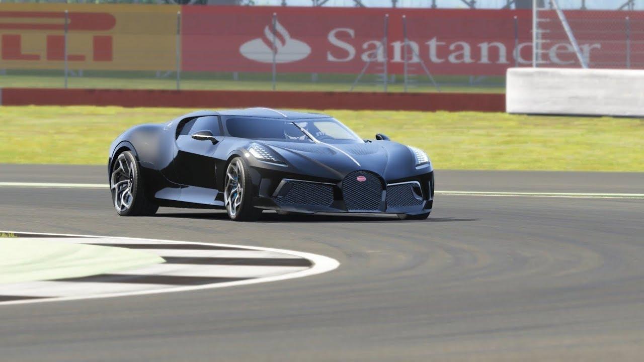 2019 Bugatti La Voiture Noire Top Gear Silverstone
