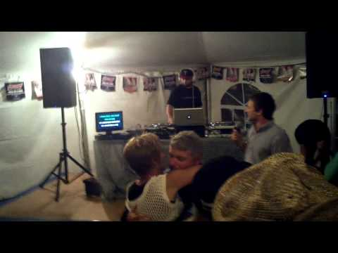 Karaoke in the Gmas Tent