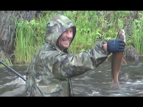 рыбалка в сибири таймень хариус