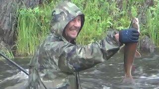 Выживание в девственной тайге. Охота, Рыбалка, Сибирь, Медведь, Тайга, Хариус, Таймень.