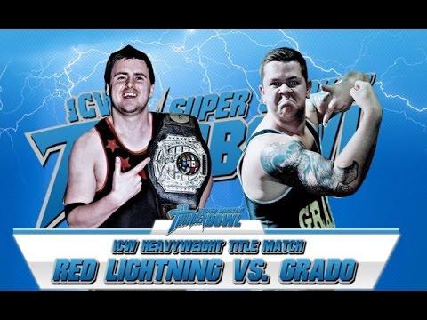 Full Match - Grado vs Red Lightning - ICW Heavyweight title
