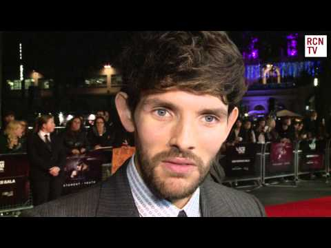 Colin Morgan Interview  Testament of Youth Premiere