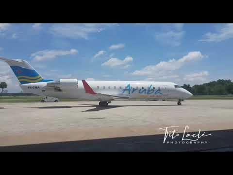 Aruba Airlines a ricibi nan propio avion CRJ-200 awe tardi