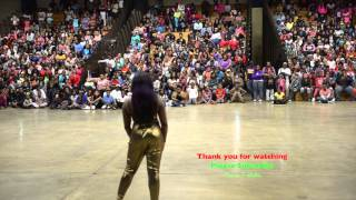 Kayla from Dancing Dolls  DD4L performs in Greenville Mississippi