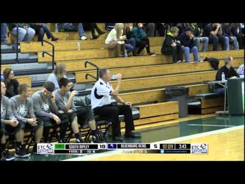 South Ripley-Oldenburg Academy Boys Basketball Full Quarter Example