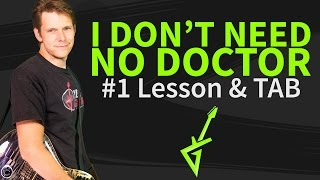 Guitar Lesson: I dont need no doctor by John Mayer - 1/3 How to Play Intro&Verse on Guitar