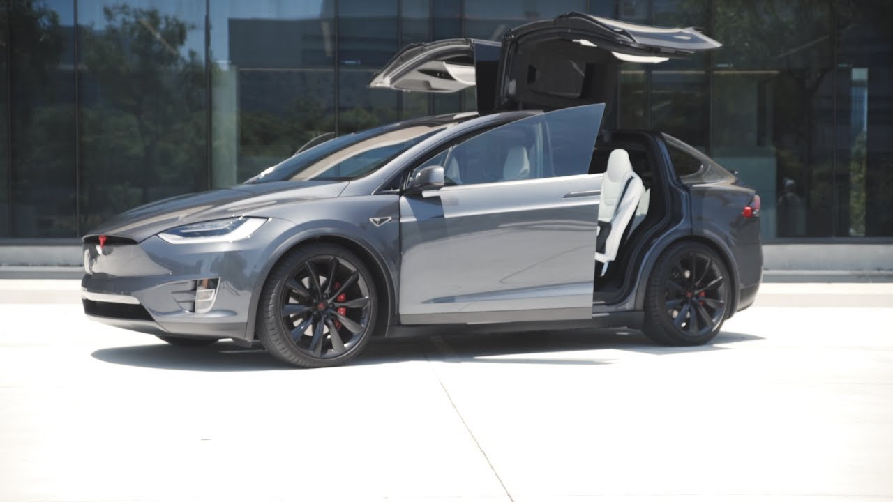 Tesla model x blacked out