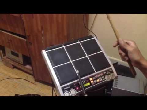 Test Sound Roland Spd-s