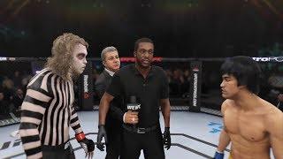 Beetlejuice vs. Bruce Lee (EA Sports UFC 3) - CPU vs. CPU