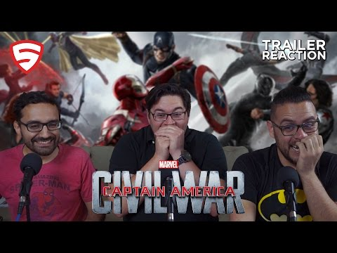 Marvel's Captain America: Civil War - Trailer 2 Reaction
