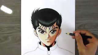 Speed Drawing   Yusuke Urameshi  YuYu Hakusho
