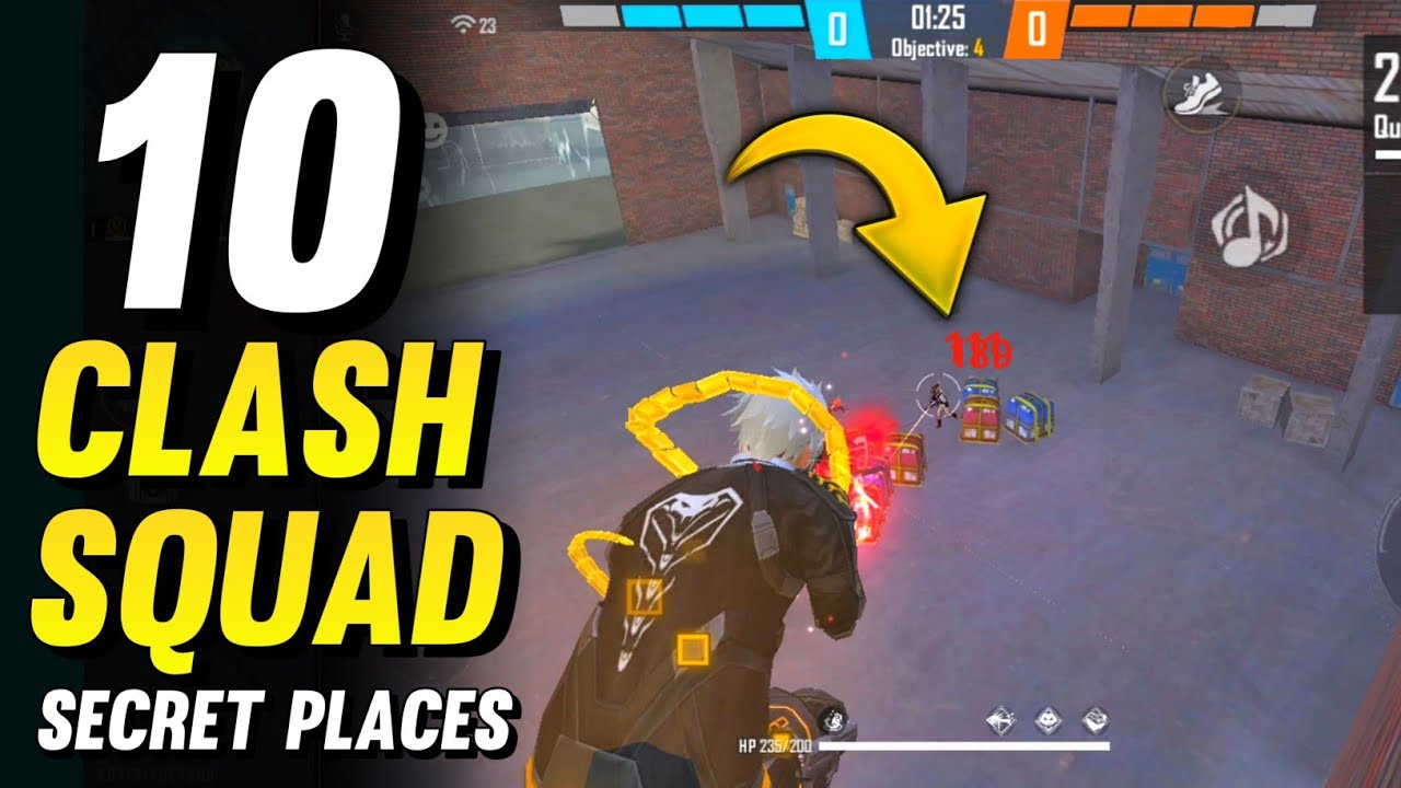 Download TOP 10 CLASH SQUAD SECRET PLACES IN FREE FIRE | CLASH SQUAD TIPS AND TRICKS - GARENA FREE FIRE