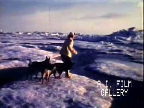 Part 1: Eskimo life in Northern Alaska, silent color film, 1955-1965