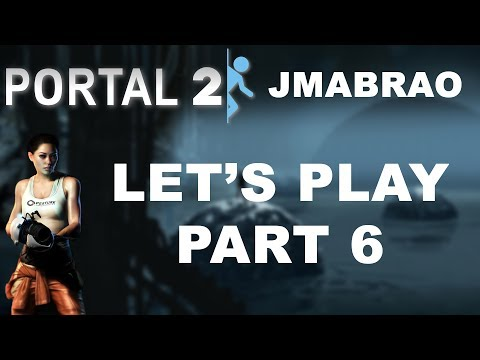 Portal 2 Let's Play Part 6 - Ice Cold Glad0s!