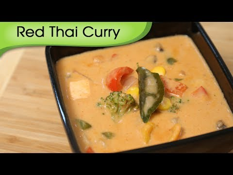 Red Thai Curry - Easy To Make Vegetarian Homemade Thai Curry Recipe By ...