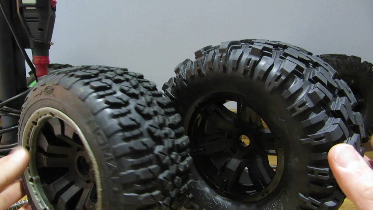 How To Mod Traxxas Xmaxx Wheels To Fit Losi 5ive T Hpi