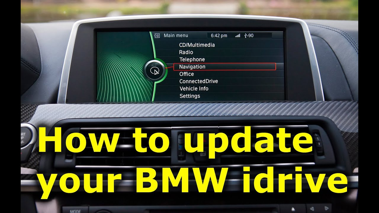 How To Update Bmw Idrive Software Youtube