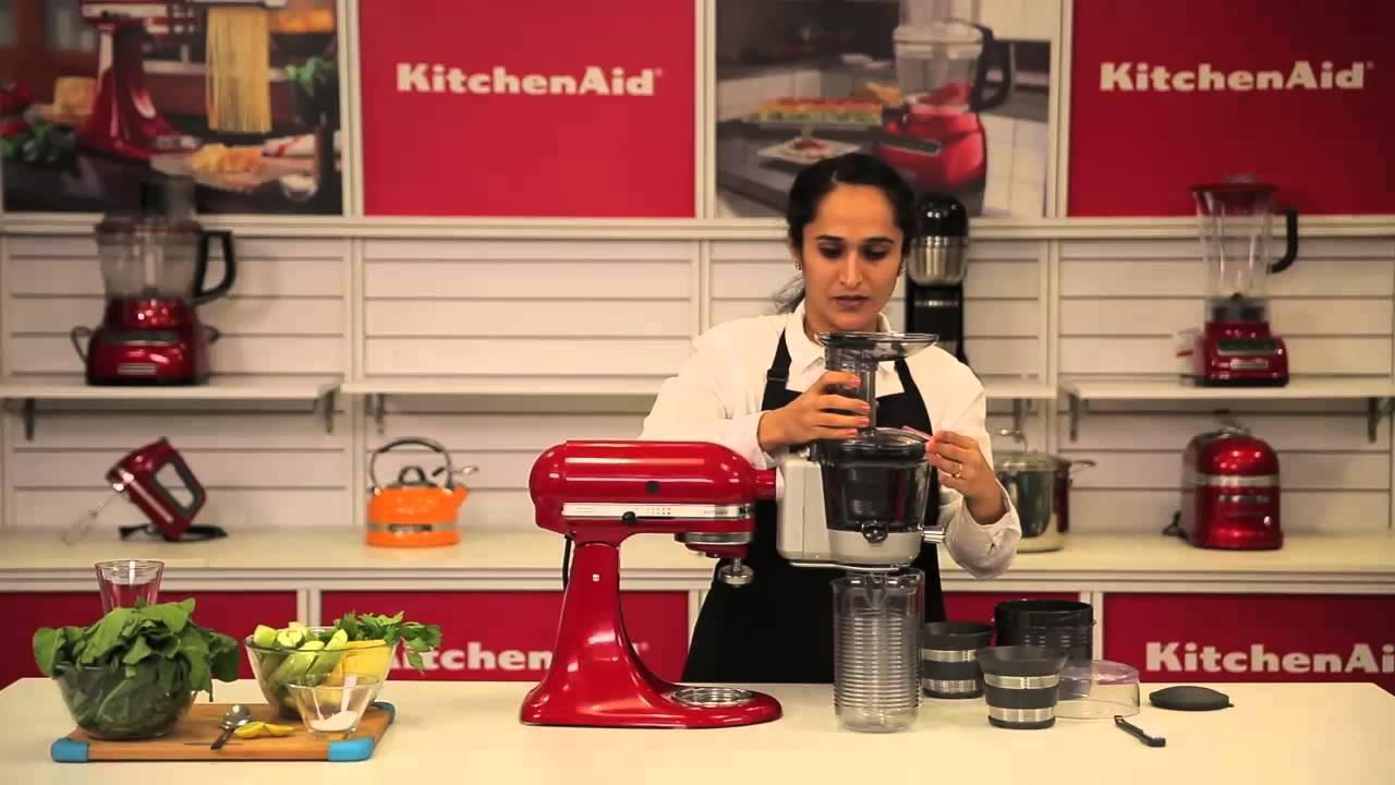 Kitchenaid Slow Juicer Attachment Youtube