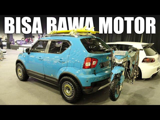 Suzuki Ignis Dimodif ala Overland, Siap Berpetualang!!