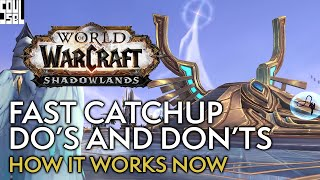 Shadowlands FAST Catchup Guİde - Best Practices - World of Warcraft