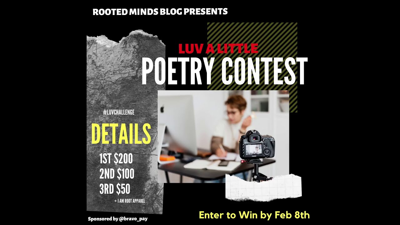 Let Us Vent Poetry Contest - Detailed Slides