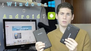 Windows VS Android en Tablets -  Comparativa en Español