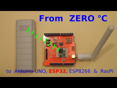 From  ZERO °C  to Wireless Thermometers (video #12)