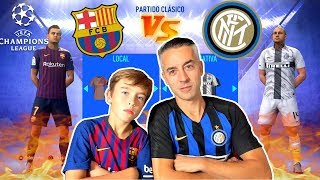FC BARCELONA VS INTER MILAN - CHAMPIONS LEAGUE