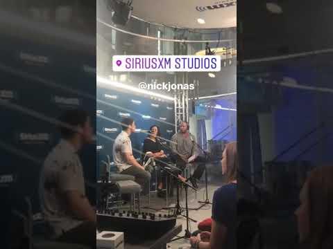 Nick Jonas via Instagram Story John Taylor - 10/06/17