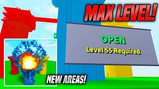 NEW AREAS IN DESTRUCTION SIMULATOR UPDATE! *MAX LEVEL* (Roblox)